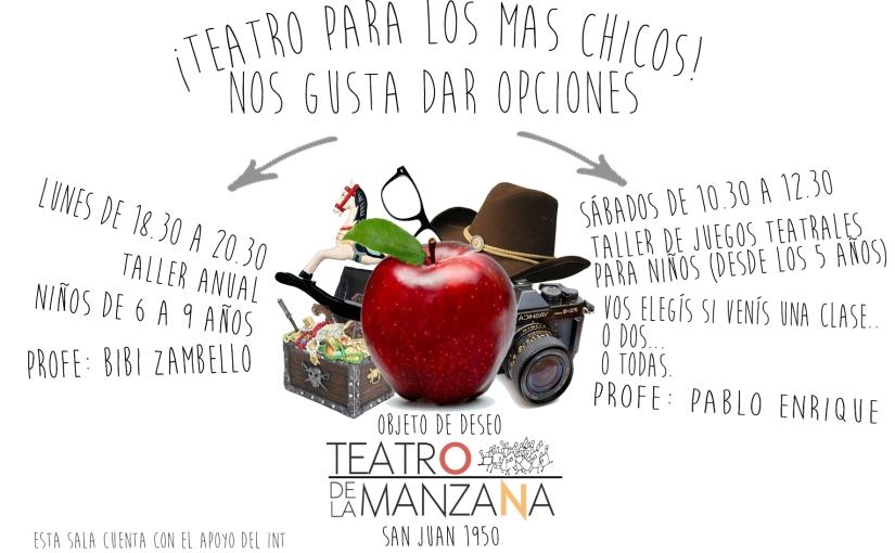 Pasó en el 2016 – TEATRO PARA LOS MASCHICOS